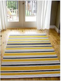 Yellow And Gray Kitchen Rugs Captivating Yellow And Grey Kitchen Rugs Striped Kitchen Rug