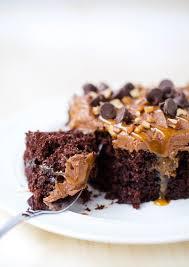 Halloween Poke Cake by Chocolate Turtle Poke Cake With Father U0027s Day Cake Topper I Heart