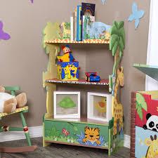 Green Bookcase Fantasy Fields Magic Garden Bookcase Hayneedle