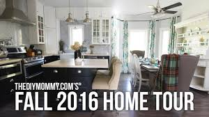 2016 fall home tour cozy colorful natural autumn decor ideas