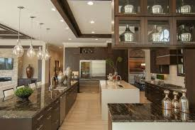 Dark Kitchen Cabinets With Light Countertops - dark kitchen cabinets with light countertops gas cooktops mix