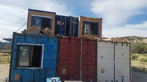 Utah couple builds house out of shipping containers  KUTV