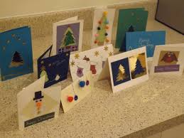 making hand made christmas cards u2013 the manifesto of perfection