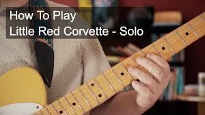 corvette chords corvette prince guitar tutorial