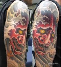 hannya mask samurai tattoo collection of 25 hannya mask tattoo model