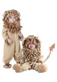 homemade lion halloween costume