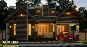 Kerala Home Design Facebook 950 Square Feet Single Floor Low Cost Modern Home Design