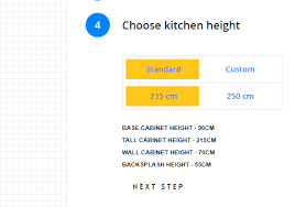 kitchen wall cabinet height options new feature custom heights kitchenwhiz