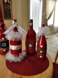 How To Decorate A Wine Bottle 10 Wine Bottles Decoration Ideas For Christmas Bottle Wine And