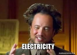 Aliens Guy Meme Generator - electricity ancient aliens crazy history channel guy make a meme