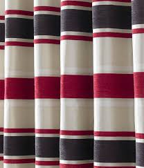 Eyelet Curtains Pimlico Stripe Chenille Lined Eyelet Curtains Ready Made Pairs All