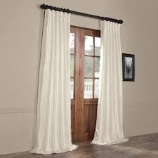Faux Dupioni Silk Curtains Dupioni Silk Curtains Wayfair