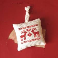 nordic cross stitch ornament ornament cross