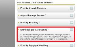 united airlines baggage allowance united airlines reduces star alliance gold checked baggage allowance