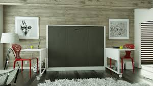 avant garde double size sideways wallbed with desk matrix wallbeds