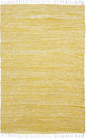 Yellow Flat Weave Rug Chenille Flat Weave Rug From Complex By St Croix Plushrugs Com
