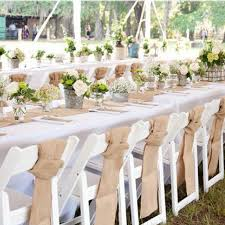 make your own table runner 10m burlap lace hessian diy table runner cover chair sashes bands