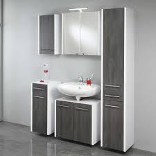 badmöbel set makarona in weiß und grau pharao24 de - Badezimmer Set Grau