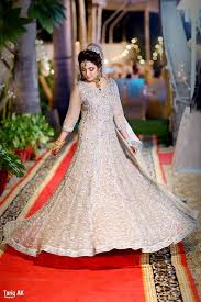 latest engagement bridal dresses collection 2017 18 for wedding brides