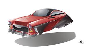 flying concept car by mherrador on deviantart