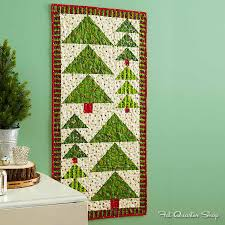 christmas trees out of flying geese holidaze pinterest