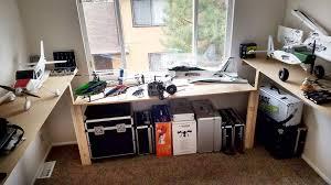 wrap around computer desk 6 00 emergency wrap around hobby desk