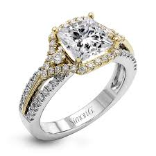 white gold engagement ring yellow gold wedding band 18k white gold diamond halo engagement ring set duchess