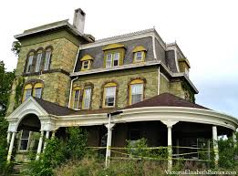 Victorian Gothic Homes Biddle Mansion Before Pictures Riverton Nj Historic Preservation