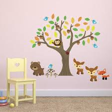 26 woodland creatures wall decals chocovenyl woodland nursery woodland creatures wall decals