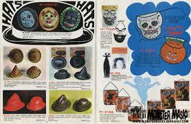 1970 band star halloween catalog blood curdling blog of monster