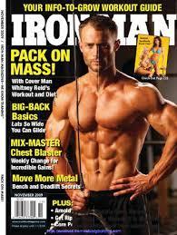 bill goldberg muscular development workout ironman magazine 2005 09 by iron man issuu