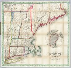 Map New England States by File 1855 Telegraph And Rail Road Map Of The New England States