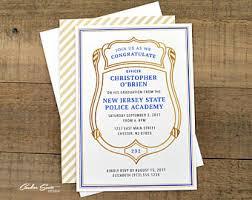 academy graduation invitations grad invite etsy