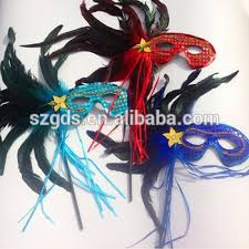 wholesale masquerade masks wholesale masquerade masks with stick fashion peacock feather