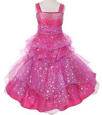 glitz pageant dresses hot pink fuchsia sparkle glitz pageant dress for ages 3 16
