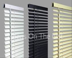 pvc venetian blinds window blind in black cream white ebay