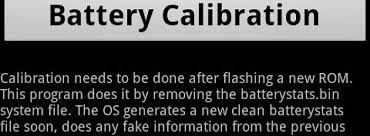 android battery calibration calibrate your battery the easy way with battery calibration for