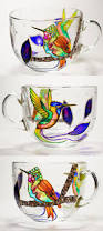 hummingbird mug mothers day gifts hummingbird glass large coffee