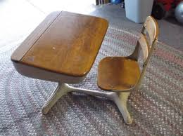 Small School Desk by Mid Century Antique Small Student School Desk Chair Set Furniture
