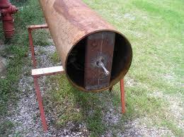 homemade ground roller i weld a scrap rectangular beam that has a