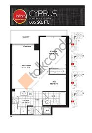 Infinity Floor Plans by Infinity The Final Phase Condos Talkcondo