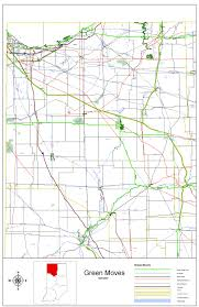 Map Indiana Indot Bicycle U0026 Pedestrian Program
