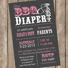 baby shower coed couples bbq and ba shower invitation baby shower