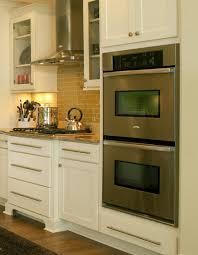 build wall oven cabinet best brilliant double wall oven cabinet for household decor