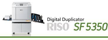 duplicator riso sf5350