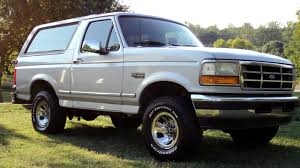 bronco car 1996 1996 ford bronco xlt 5 0l 4x4 reds performance garage
