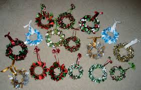 mini wreath ornaments occasions and holidays