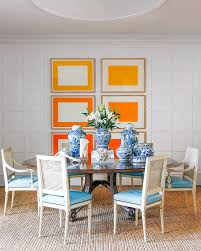Turquoise And Orange Kitchen by Portrait Of A Lady May 2014 Lonny