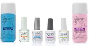 amazon com new gelish full size gel nail polish basix care kit
