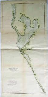 West Coast Of Florida Map by Prints Old U0026 Rare Florida